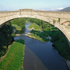 Picture - An old bridge in Ceret.