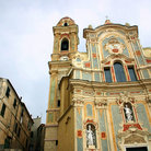 Picture - The cathedral in Cervo.