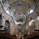 Picture - Interior of the cathedral in Cervo.