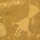 Picture - Petroglyphs at Chaco Canyon.