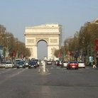 Picture - The Champs-Elysées in Paris.