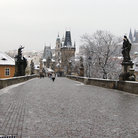Picture - Charles Bridge in Prague.