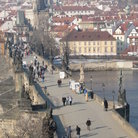 Picture - Charles Bridge in Prague is open only to pedestrians.
