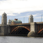 Picture - The Longfellow Bridge over the Charles River between Boston and Cambridge.