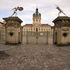 Picture - Gate of the Charlottenburg Palace in Berlin.