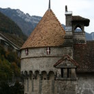 Picture - Tower, Chillon Castle, Montreux.