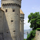 Picture - Towers of the Castle of Chillon.