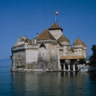 Picture - Château de Chillon on Lake Geneva.