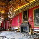 Picture - Interior view of the Chateau Versailles.