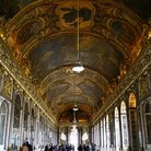 Picture - Painted ceiling in the Chateau Versailles.