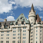 Picture - View of the Chateau Laurier Hotel in Ottawa.
