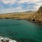 Picture - The shoreline of Isla San Cristobal.