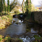Picture - A stream in Cheddar.