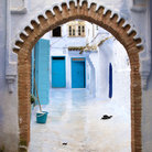 Picture - Typical scene in Chefchaouen.