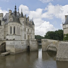 Picture - The Chenonceau Castle in the Loire Valley.