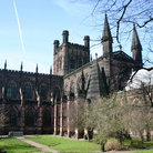 Picture - Exterior view of the Chester Cathedral.