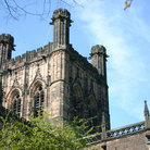 Picture - Detail of the Chester Cathedral.