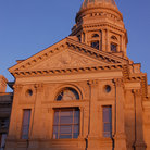Picture - Rear Facade of the Wyoming State Capitol building, Cheyenne.