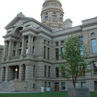 Picture - From of the State Capitol building in Cheyenne.