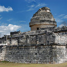 Picture - Observatory or Caracol at Chichen Itza in the Yucatan.