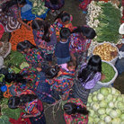 Picture - View over the market at Chichicastenango.