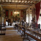 Picture - A dining area of Chillingham Castle.