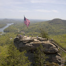 Picture - Overlooking Chimney Rock Park in North Carolina.