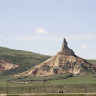 Picture - Landscape around Chimney Rock, Nebraska.