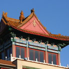 Picture - Roof of a building in Vancouver's Chinatown.