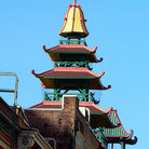 Picture - Pagoda topped building, Chinatown, San Francisco.