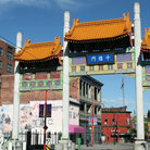 Picture - A gate to Chinatown in Vancouver.