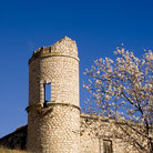 Picture - Tower of the Chinchon Castle.