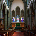 Picture - The interior of the Christ Church Cathedral in Victoria.