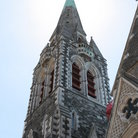 Picture - The spire of Christchurch Cathedral.