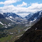 Picture - Powerline Pass, Chugach Mountains.