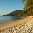Picture - The Sairee Beach on Koh Tao.
