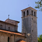 Picture - Tower of the Franciscan Monastery in Pula.