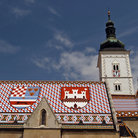 Picture - St. Mark's Church, Zagreb.