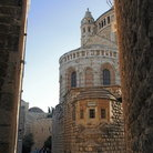 Picture - The church of the Dormition in Jerusalem.