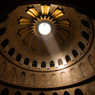 Picture - Interior of the Dome of the Church of the Holy Sepulcher.