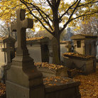 Picture - View of the Cimetiere du Pere-Lachaise in Paris.