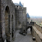 Picture - The Chateau Inquisition in Carcassonne.