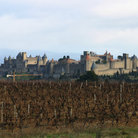 Picture - Carcassonne Cité, prime example of medieval fortification in Europe .