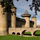 Picture - The walled city of Carcassonne.