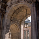 Picture - Arches of the City Chambers in Glasgow.
