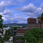 Picture - View over Oslo City Hall.
