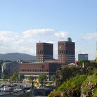 Picture - View of Oslo City Hall.