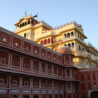 Picture - City Palace in Jaipur.