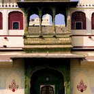 Picture - Entrance of the Jaipur City Palace.