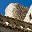Picture - Detail of the Dubrovnik city walls.